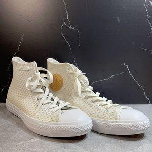 Converse Chuck Taylor White/Gold Size 9M 11L